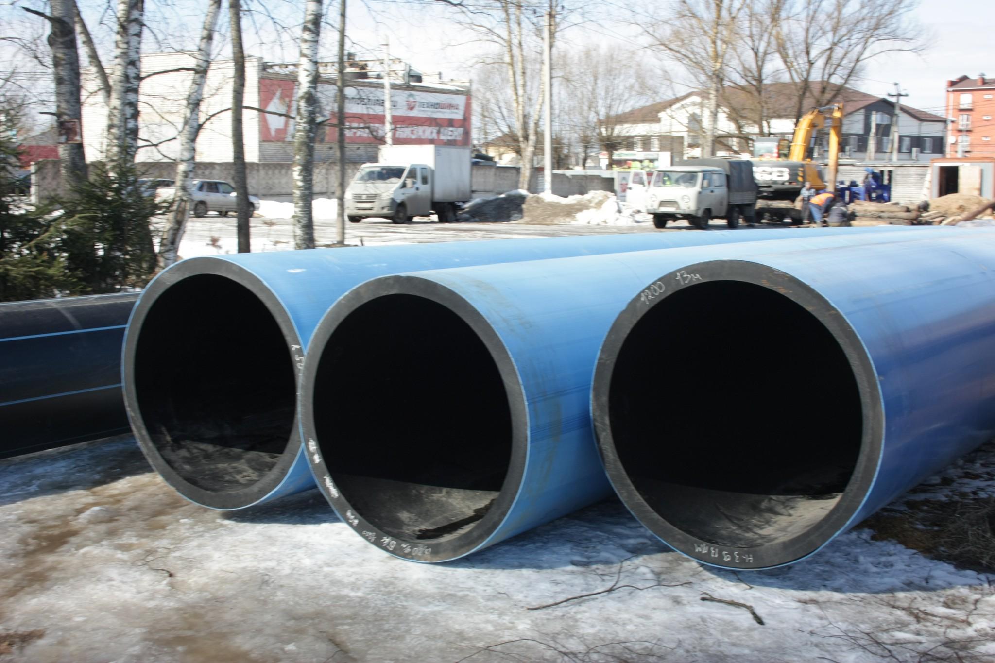 Для модернизации водовода в Твери освобождают незаконно занятые жителями земельные участки