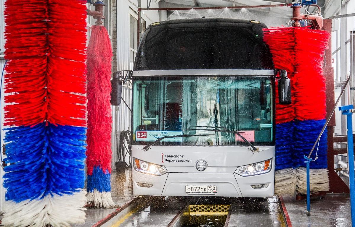 В Твери городские автобусы отмывают к лету, а кондиционеры в них тестируют - новости Афанасий