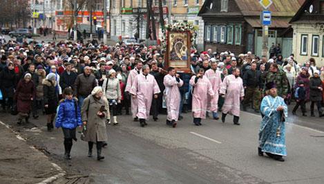 В Твери в день памяти святых равноапостольных Кирилла и Мефодия будет организован крестный ход