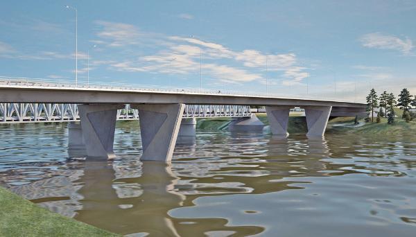 Игорь Руденя: проект Западного моста включает три моста - новости Афанасий