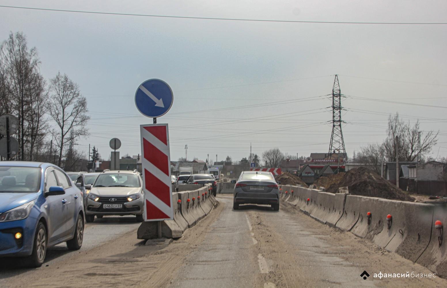 Ограничения на «бежецкой»: в Твери перекрывают улицы Шишкова и Новая Заря  - новости Афанасий
