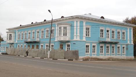 В Торжке завершилась реставрация фасада гостиницы Пожарских