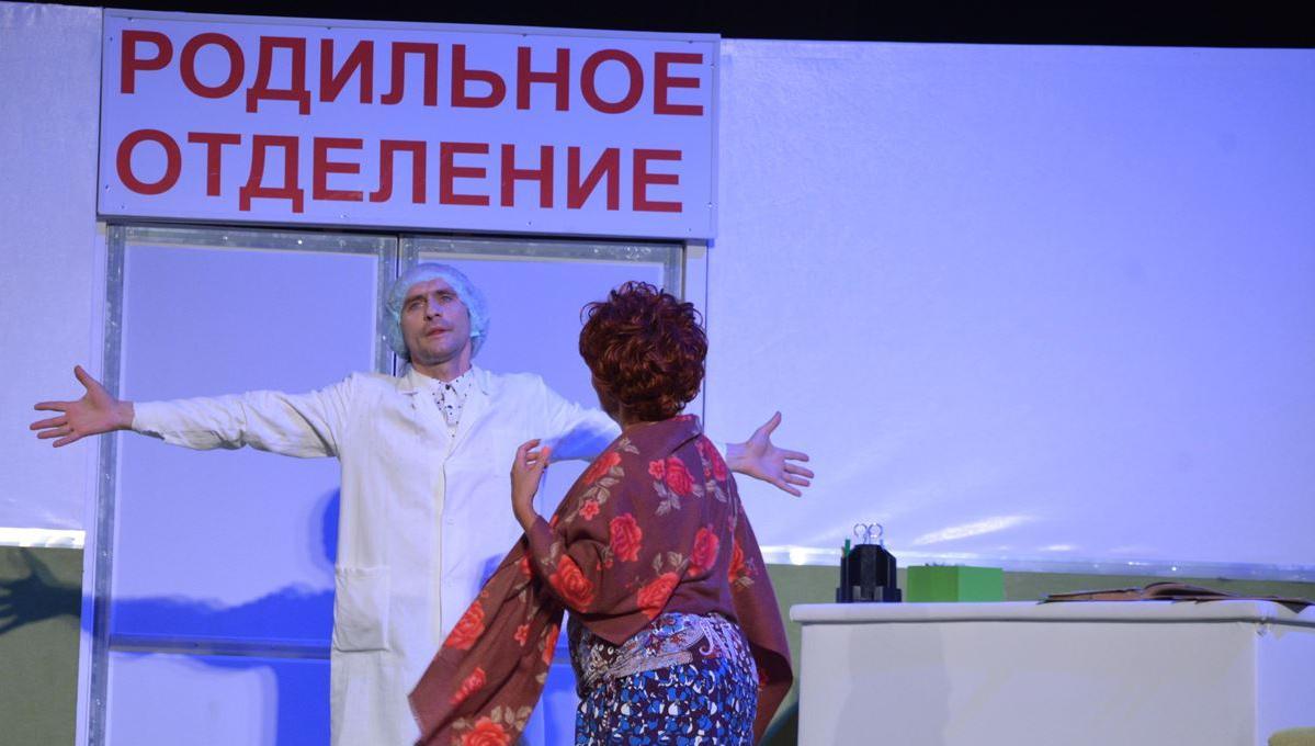 Драмтеатр Смоленска показал в Твери спектакль «Весы» по пьесе Евгения Гришковца