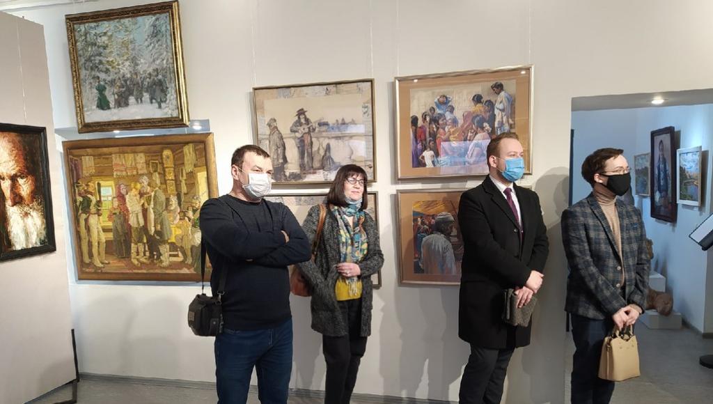 Выставка передвижников XXI века открылась в Ржеве Тверской области