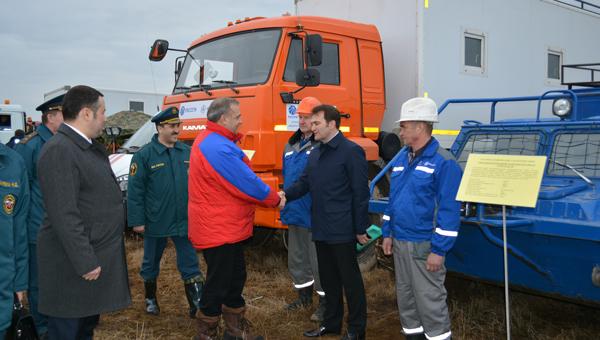 Глава МЧС Владимир Пучков оценил готовность тверского филиала МРСК Центра к пожароопасному периоду