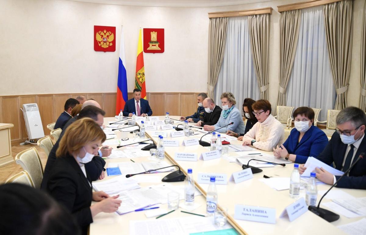 В Тверской области бесплатно питаются в школах более 18 тысяч детей из семей, нуждающихся в господдрежке