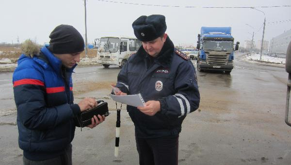 В Твери штрафовали водителей, которые работают без тахографов