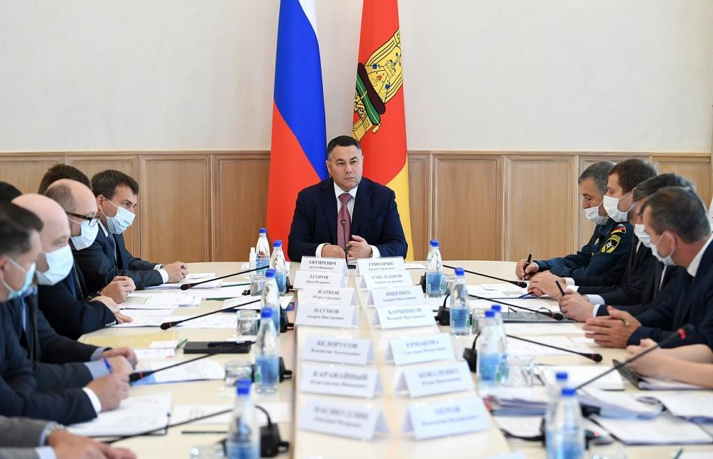 Игорь Руденя провел совещание с членами правительства Тверской области - новости Афанасий