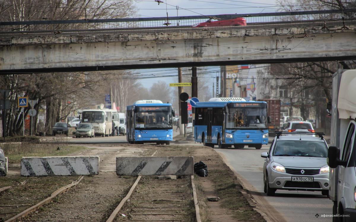 Еще три автобусных маршрута запустят в Твери, убрав последний троллейбус - новости Афанасий