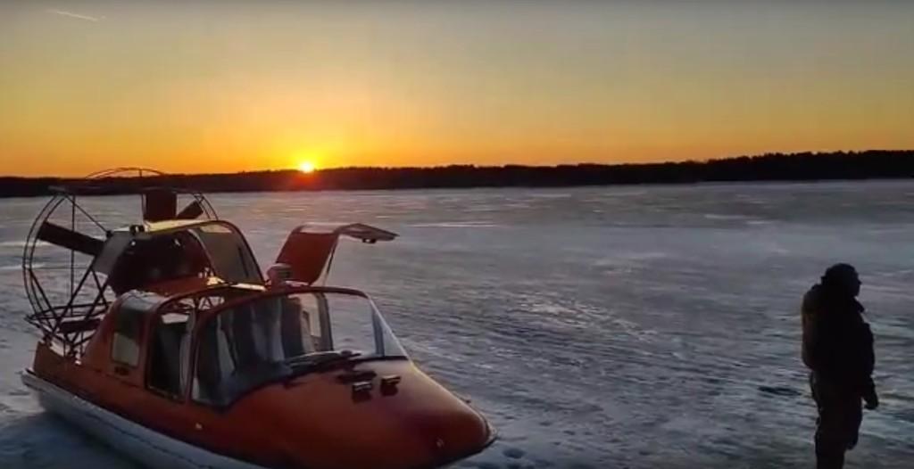 В Тверской области спасли мужчину, провалившегося под лед на Волге