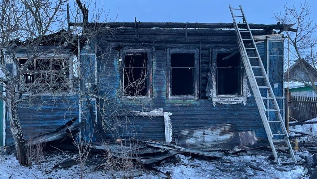 На пожаре в Калязине Тверской области погиб мужчина - новости Афанасий