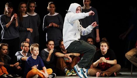 Танцоры со всей страны поборолись за победу на ежегодном турнире «Tver street jam 2014»