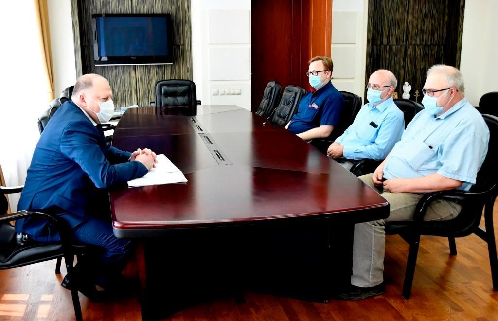 Сергей Голубев встретился с учеными-физиками Тверского государственного университета - новости Афанасий