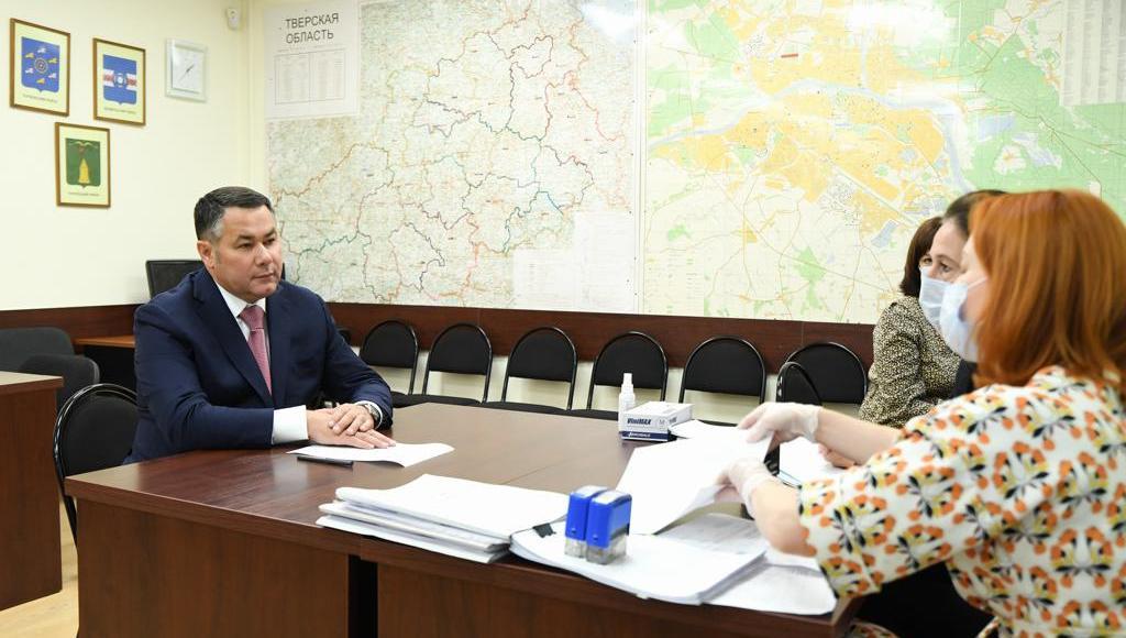 Игорь Руденя представил документы для регистрации в качестве кандидата в губернаторы Тверской области - новости Афанасий