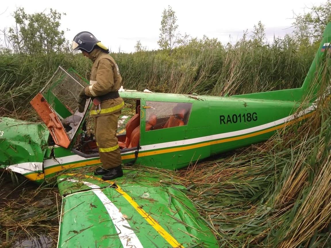 В Тверской области упал легкомоторный самолет - новости Афанасий