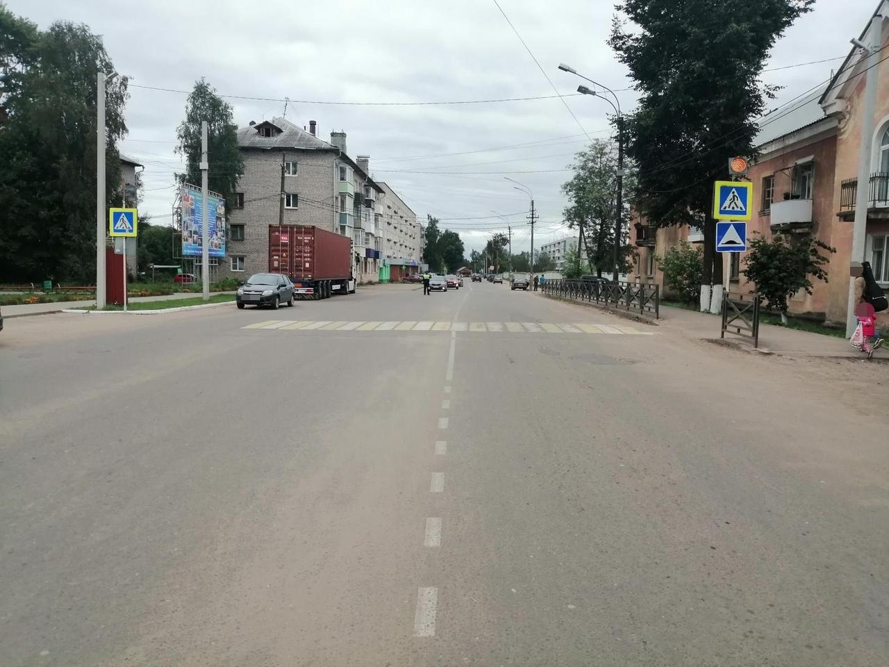 В Тверской области водитель «семерки» сбил на пешеходном переходе женщину - новости Афанасий