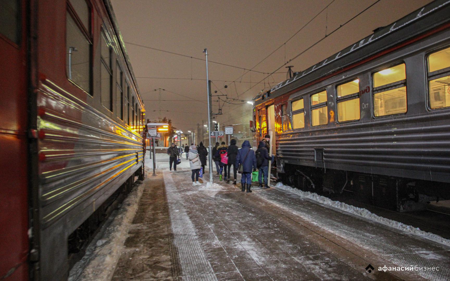 В апреле в Тверской области частично отменят несколько пригородных поездов - новости Афанасий