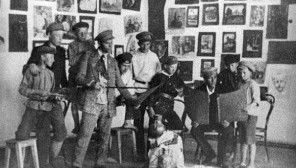 Тверитяне увидят работы Савелия Шлейфера - первого учителя известного художника Владимира Серова