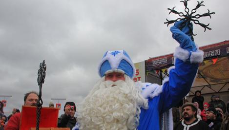 В Торжке Дед Мороз из Великого Устюга «закует» зиму