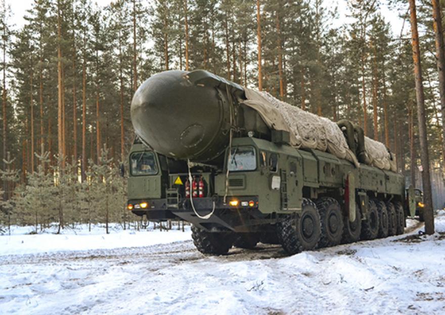 В Тверской области пусковые установки «Тополь» вышли на полевые позиции