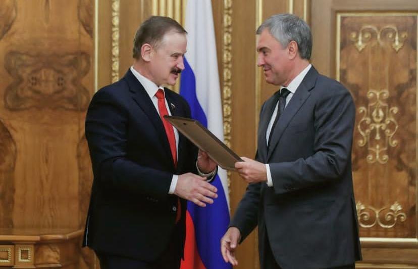 Тверского депутата наградил Председатель Госдумы - новости Афанасий