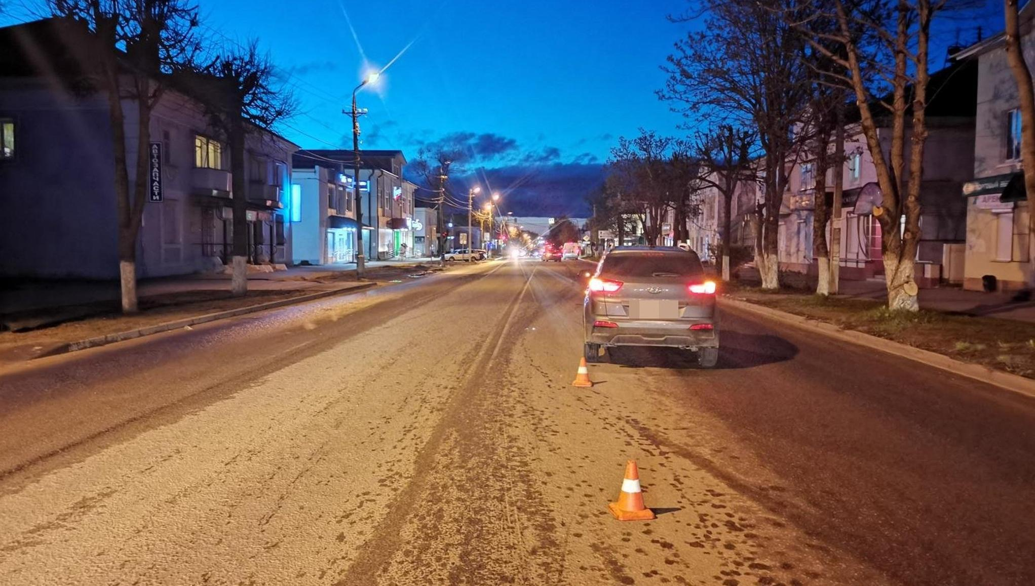 Пешеход попал под машину в Ржеве Тверской области