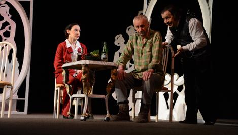 Вышневолоцкий театр драмы показал в Твери спектакль «Ретро»