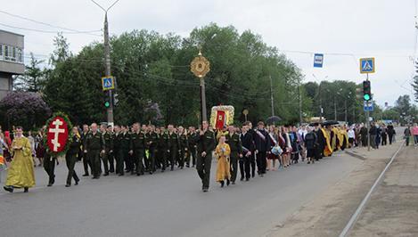 В Твери в день памяти святых равноапостольных Кирилла и Мефодия состоялся крестный ход