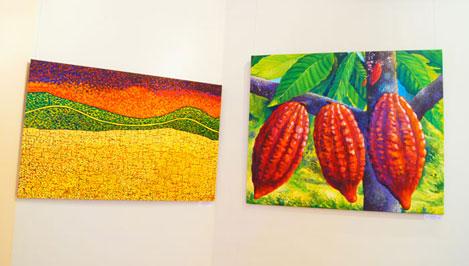 Жители Твери увидят лето в конце зимы: в музейно-выставочном центре проходит выставка латиноамериканских художников