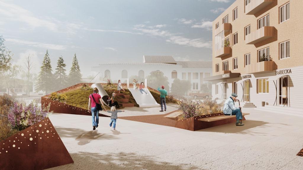 В будущее, не изменяя традициям: в Нелидове подготовлена концепция реновации центра города