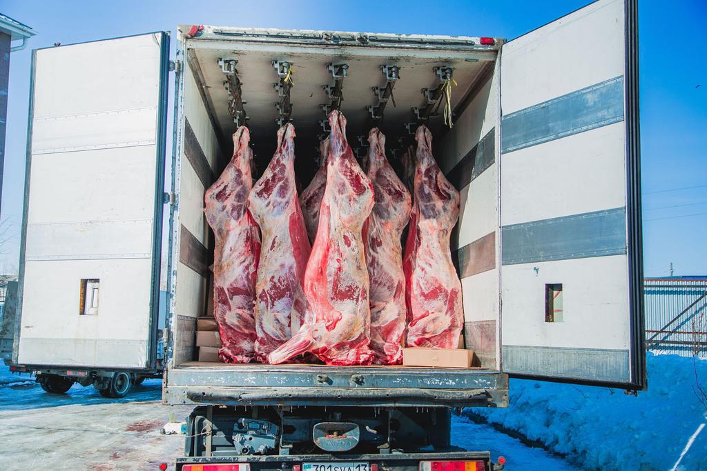 Водитель автомашины осуществлял перевозку охлажденного мяса без соответствующих документов и теперь ответит за это - новости Афанасий