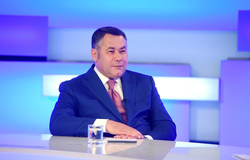 Губернатор Игорь Руденя ответит на вопросы жителей региона в прямом эфире - новости Афанасий