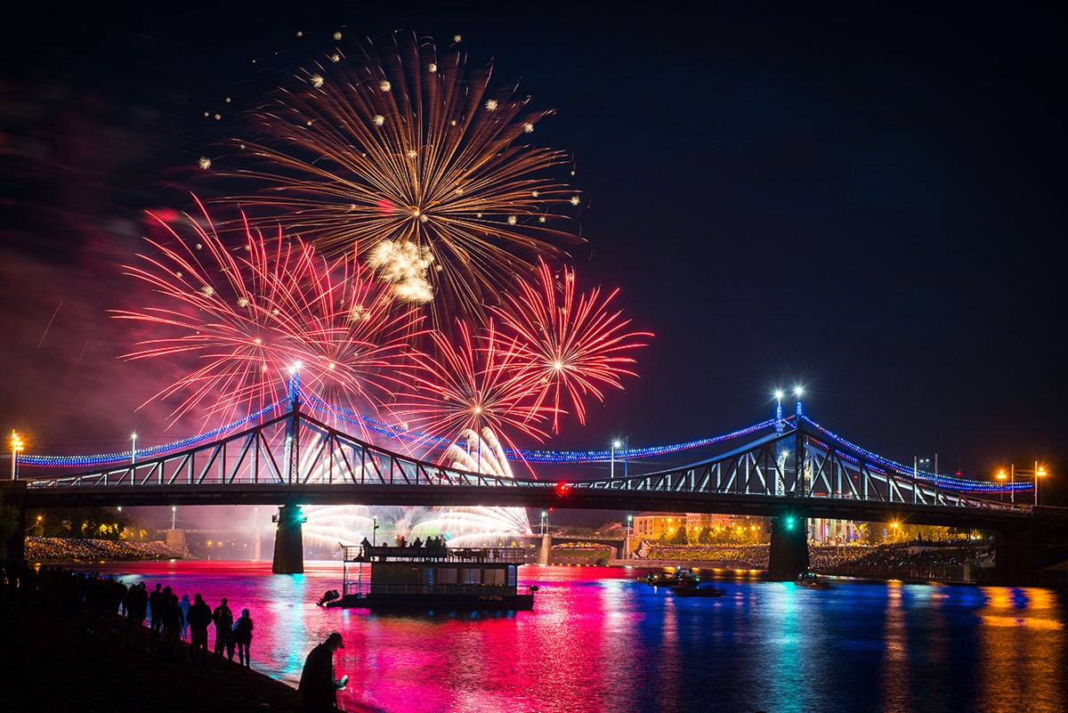 Старому мосту через Волгу – символу Твери – исполнилось 120 лет - новости Афанасий