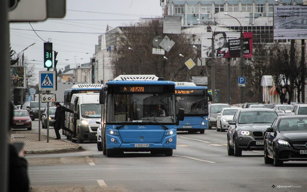 Новые автобусы выйдут на измененный маршрут №177 в Твери - новости Афанасий