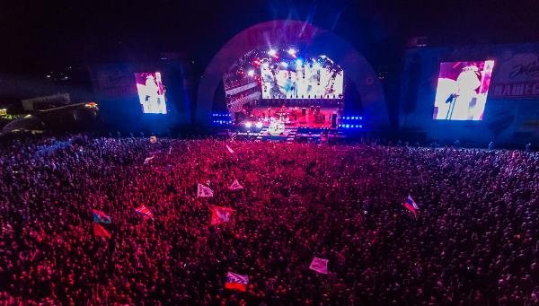 «Ленинград» и фейерверк закрыли фестиваль «Нашествие»