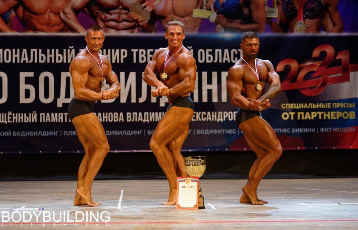 Атлеты со всей России состязались на турнире по бодибилдингу в Твери - новости Афанасий