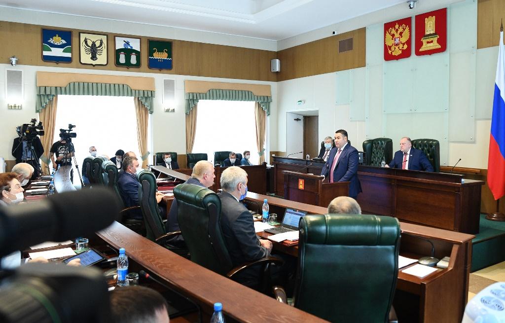 Игорь Руденя назвал приоритетные направления тверского правительства - новости Афанасий