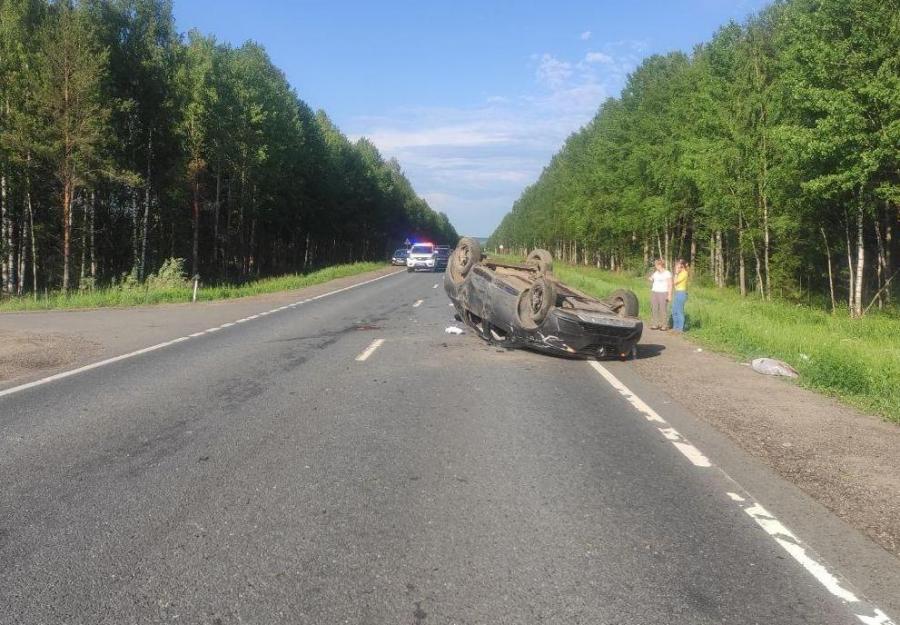 Семья из Тверской области попала в больницу после ДТП на трассе под Костромой