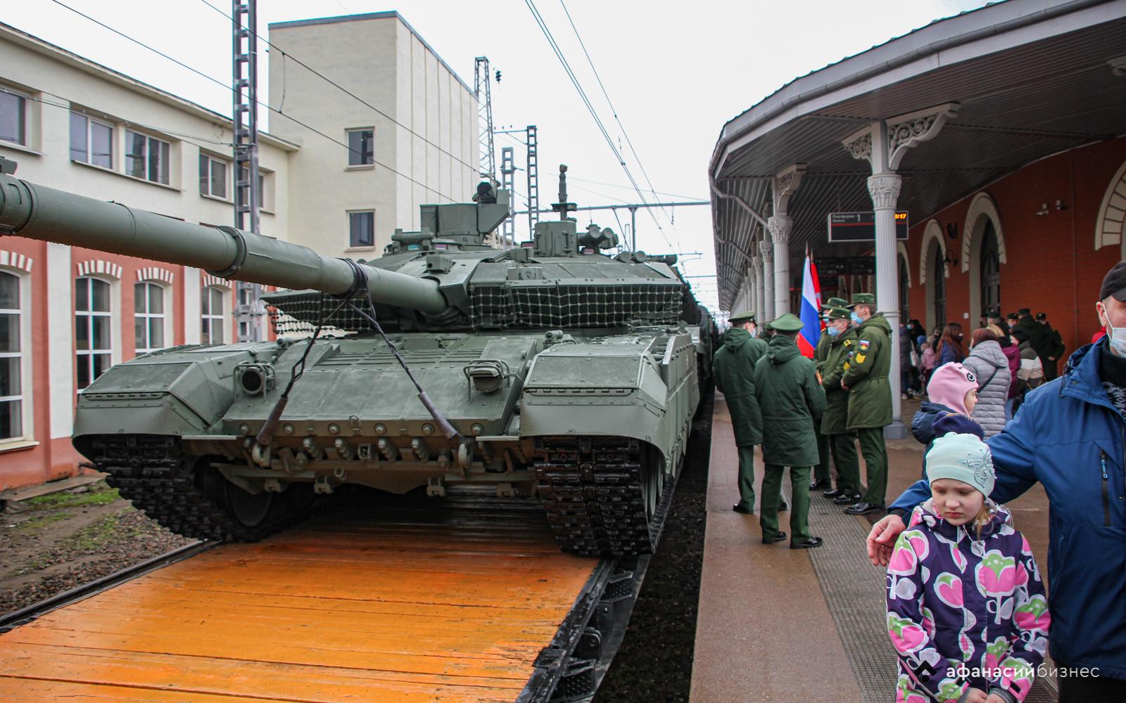 «Мы – армия страны»: В Твери побывал спецпоезд Минобороны с выставкой