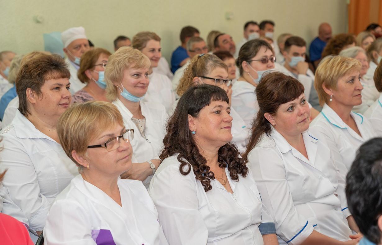 Калининская АЭС поздравила профессионалов ЦМСЧ-141 с Днем медицинского работника
