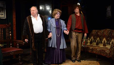 «Благотворительница» дала старт театральному сезону