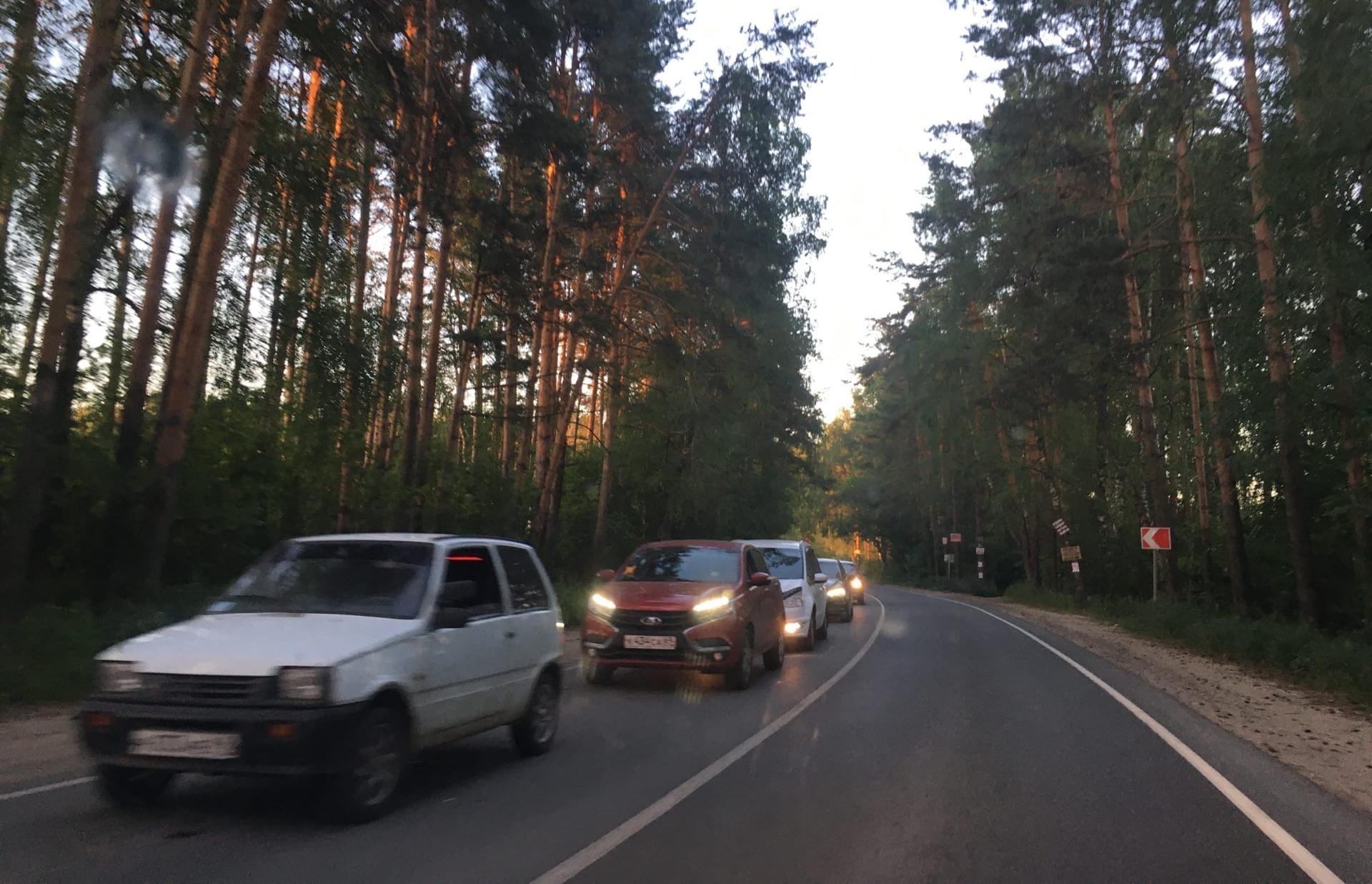 На въезде в Тверь выросла многокилометровая пробка - новости Афанасий