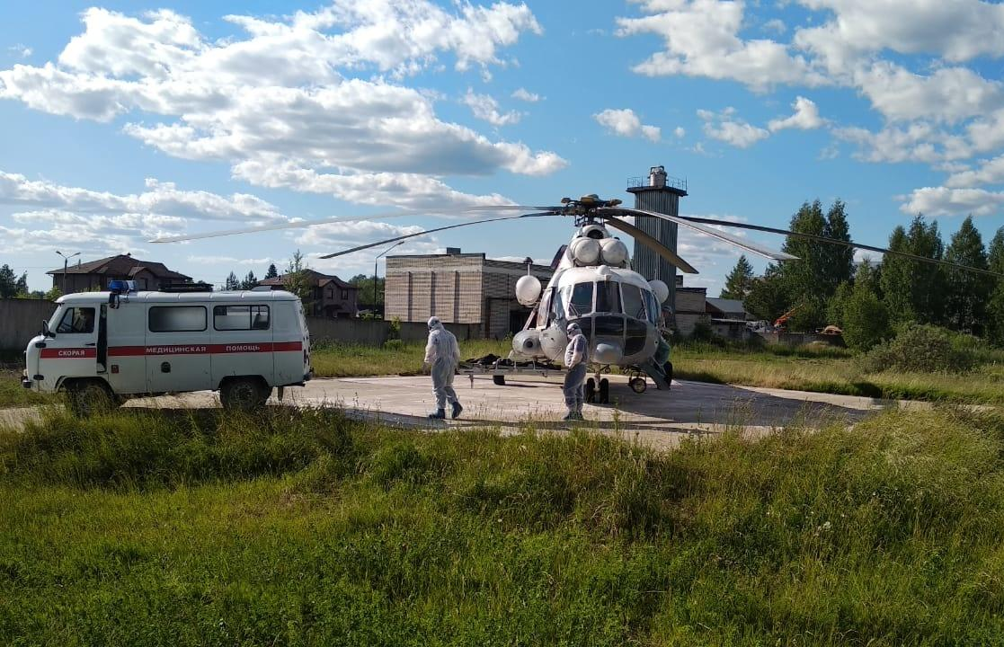 Вертолеты санавиации трижды доставляли пациентов в Тверь - новости Афанасий