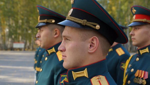 В Тверской области молодые офицеры РВСН приняли гвардейскую присягу