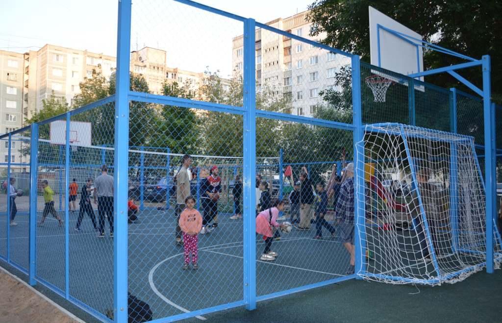В Твери на 1-м переулке Красной Слободы в рамках ППМИ открыли спортплощадку - новости Афанасий