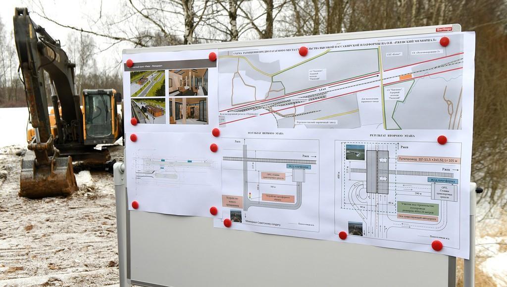 Железнодорожная станция «Ржевский мемориал» в Тверской области может появиться уже в 2021 году - новости Афанасий