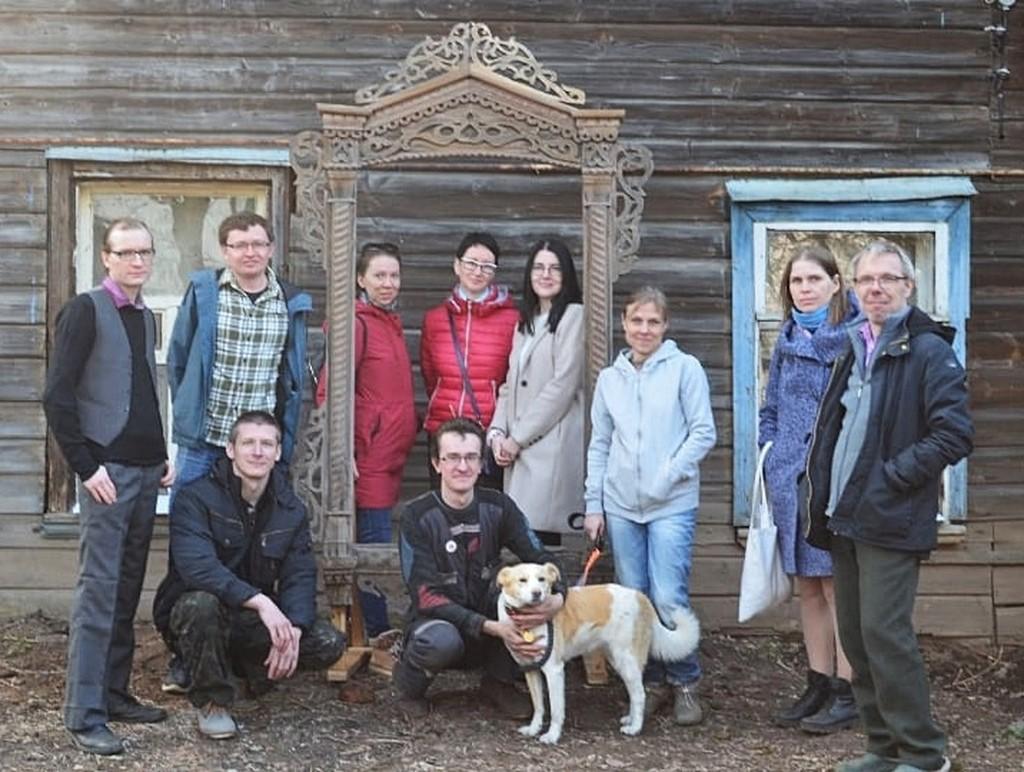 Волонтеры «Том Сойер Феста» в Кимрах убрались на территории «Дома Туполева»