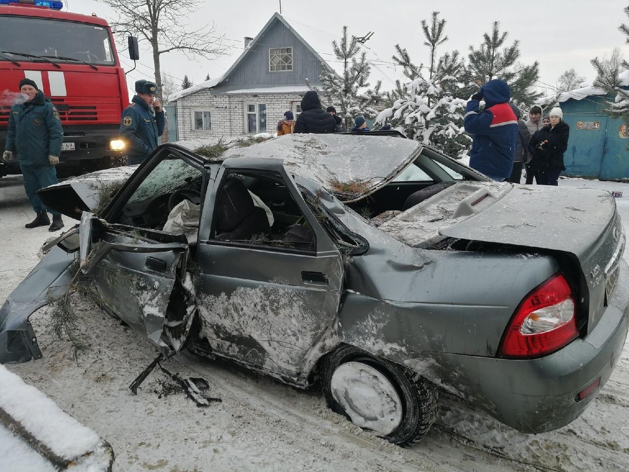 В Тверской области водитель после ДТП скончался в больнице