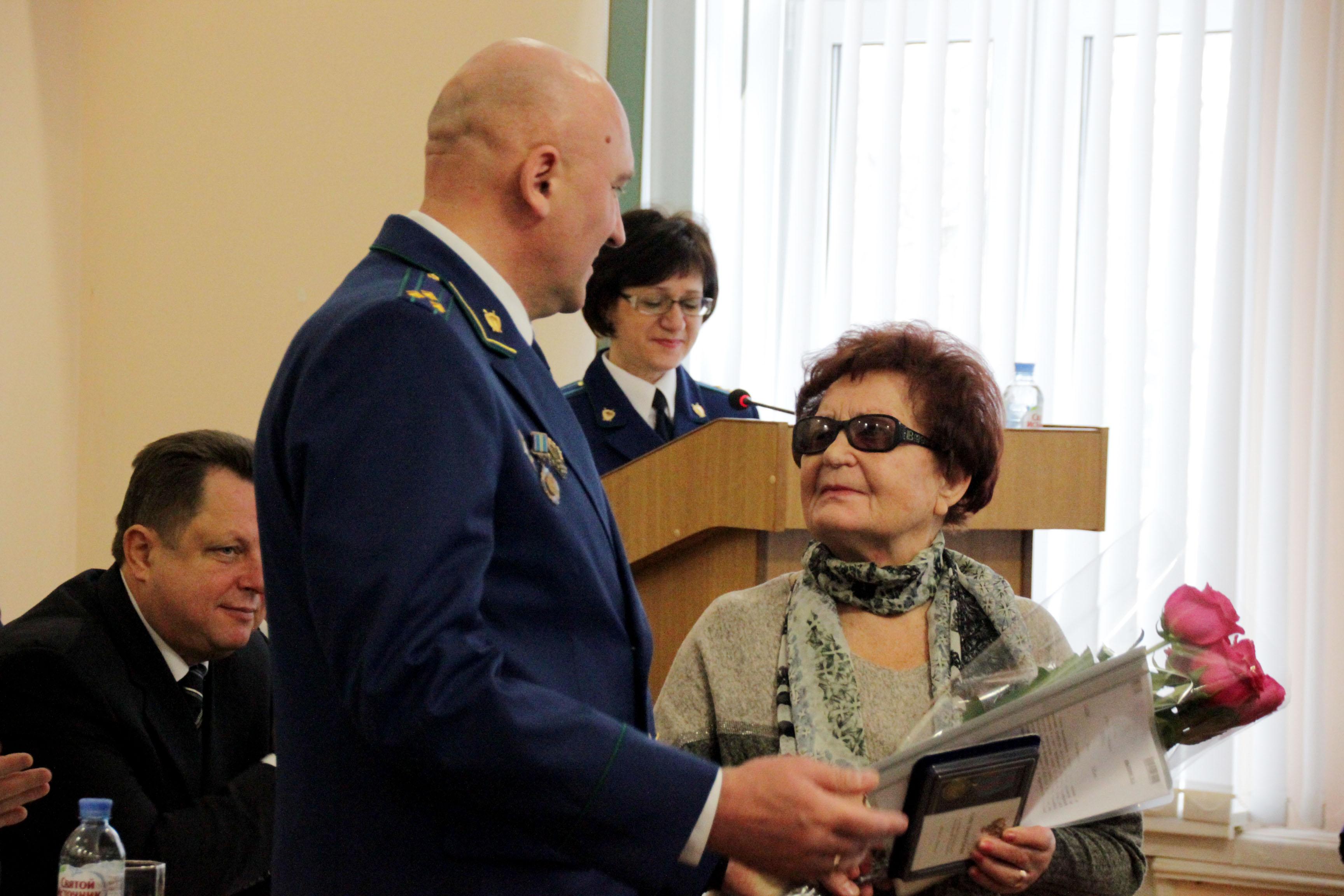 Новый прокурор Тверской области и ветеран службы поздравили коллег с 297-летием ведомства