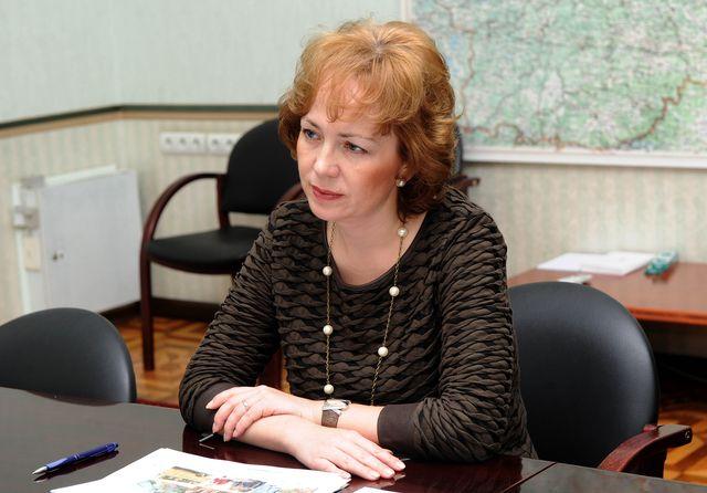 Министр соцзащиты Тверской области Елена Хохлова